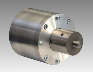 一个防溅外壳中的20 KHZ的声换能器。